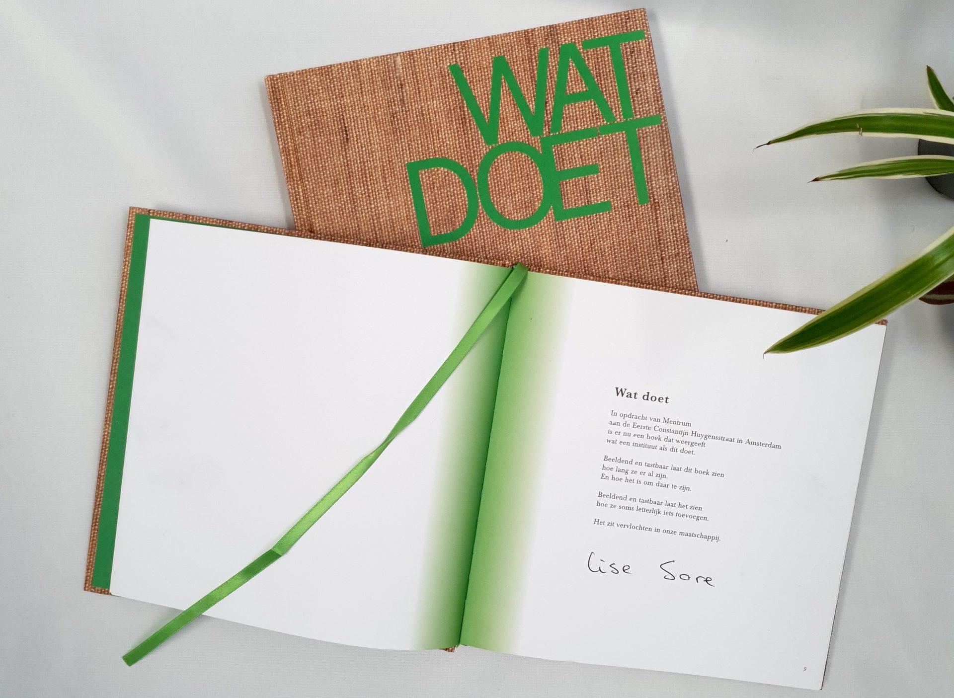 Boekpresentatie Wat Doet 14 oktober kliniek Eerste Constantijn Huygensstraat